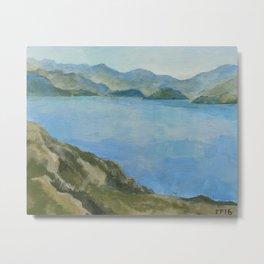 Lake Hawea Metal Print