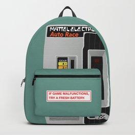 Mattel Auto Race, 1976 Backpack