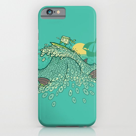 Surfin' Soundwaves iPhone & iPod Case