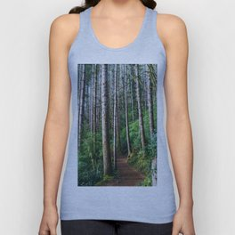 Trees: III // Oregon Unisex Tank Top