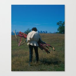 10 of Wands Canvas Print