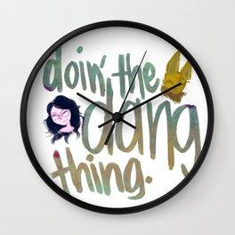 Dang Thing Wall Clock