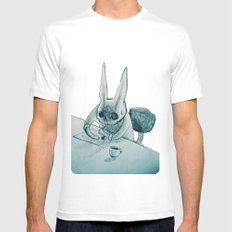 another bunny White MEDIUM Mens Fitted Tee