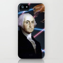 Rad George Washington iPhone Case