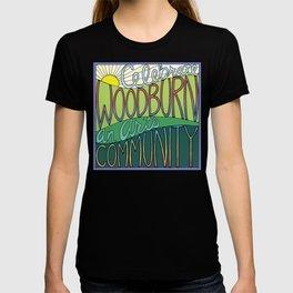 Celebrate Woodburn an Arts Community T-shirt