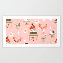 Brownie Batter Art Print