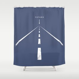F U T U R E Shower Curtain