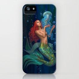 Beautiul mermaid iPhone Case