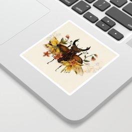 Blooming Beetle Sticker