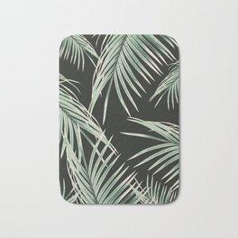 Green Palm Leaves Dream #1 #tropical #decor #art #society6 Bath Mat