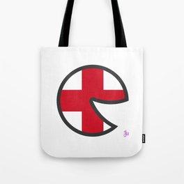 England Smile Tote Bag