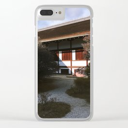 Kyoto Imperial Palace Shadows Clear iPhone Case