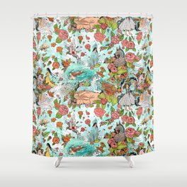 Fairy Tale Tapestry Shower Curtain