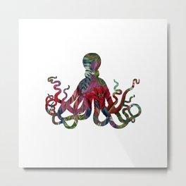 colorful octopus Metal Print