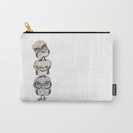 Owl Totæm Carry-All Pouch