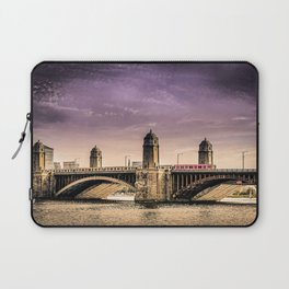 Longfellow Bridge, Boston MA Laptop Sleeve
