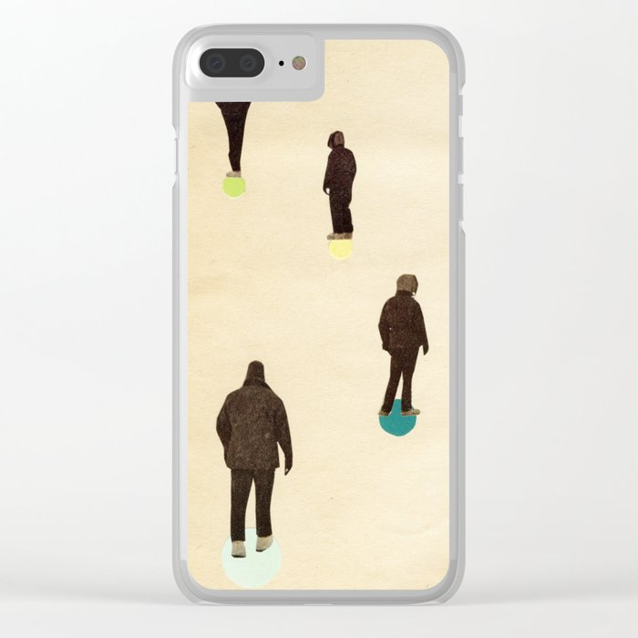 Wander Clear iPhone Case