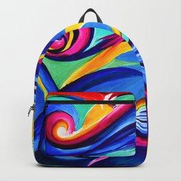 Reiki Abstract Backpack