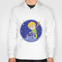 little prince Hoodies featuring Little Prince by Bruna Sousa