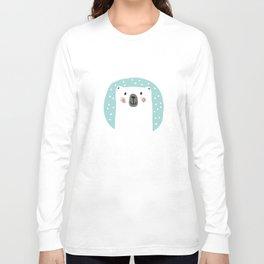 Polar Bear Snowtime Long Sleeve T-shirt