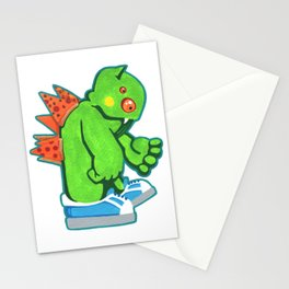 Kaiju Food Monster Pizzaback Stationery Cards