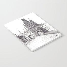 Charles Bridge in Prague, Czech Republic Notebook