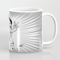 hentai Mugs featuring KWeb #6 : Hentai Kamen (black & white) by Adrien ADN Noterdaem