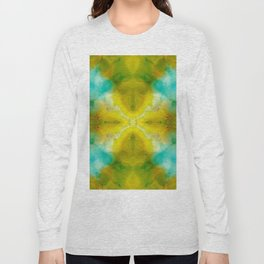 Abstract Symmetry V Long Sleeve T-shirt