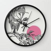 hunter x hunter Wall Clocks featuring Hunter by Zeke Tucker