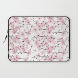 Watercolor cherry blossom Laptop Sleeve
