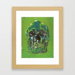 Skull #5 Framed Art Print