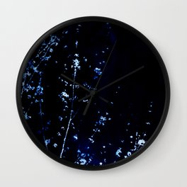 Indigo Scatter Wall Clock