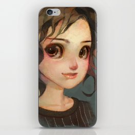 Subtle Smile iPhone Skin