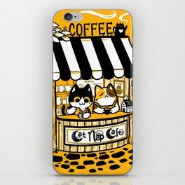 Cat Nap Cafe iPhone Skin
