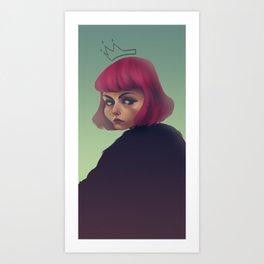 queenpink Art Print