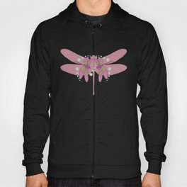 pattern with dragonflies 3 Hoody