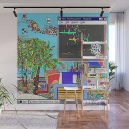 Vaporwave Wall Mural