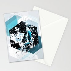 Geometric Textures 4 Stationery Cards