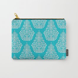 SPIRIT blue white Carry-All Pouch