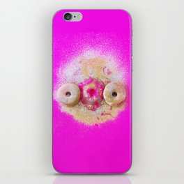 DONUT WORRY 1 (without text) iPhone Skin