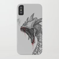 hydra iPhone & iPod Cases featuring Hydra by Sara Saeed
