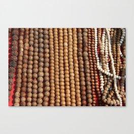 Mala Beads Canvas Print