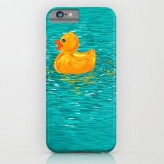 Quack Quack Says the Plastic Duck! iPhone 6s Slim Case