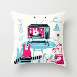 The Magic Hour Throw Pillow