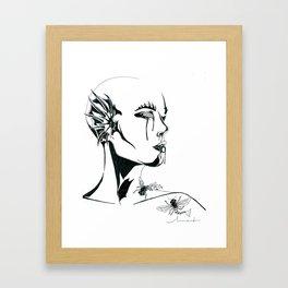 Ocean Honey Framed Art Print