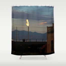 Morning Flame Shower Curtain