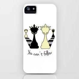 Chess Game Women Power - Feminism iPhone Case