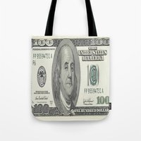 the 100 Tote Bags featuring 100$ by Dano77