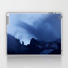 Mont Blanc Massif at night Laptop & iPad Skin