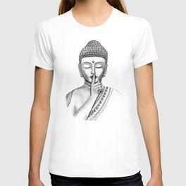 Shh... Do not disturb - Buddha T-shirt